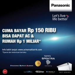 Promo Special AC Panasonic Inverter Series