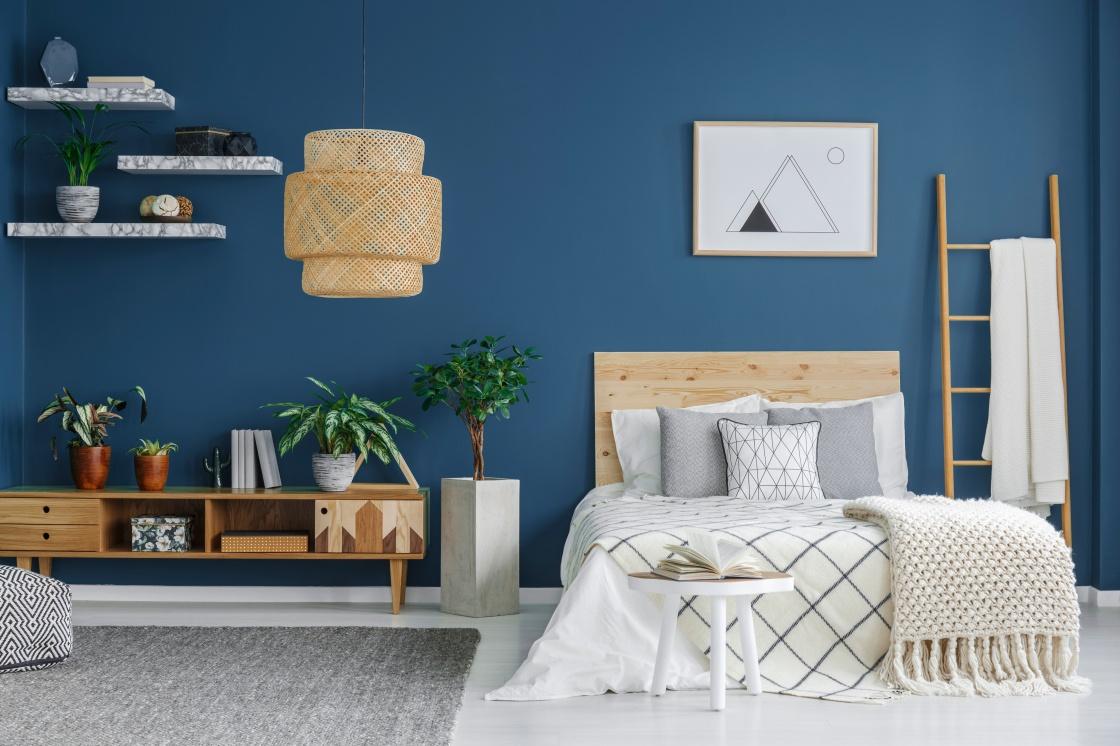 Terungkap, Ini Alasannya Mengapa Kamar Tidur Anda Sebaiknya  Dicat Warna Biru